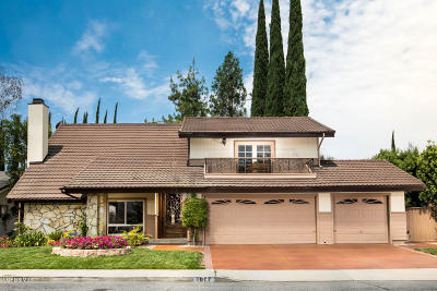 Westlake Village Single Family Home For Sale: 1077 Freeport Court