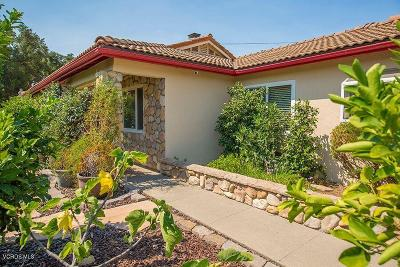 Ojai Single Family Home For Sale: 2551 Bonmark Drive