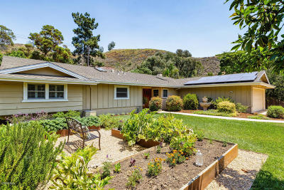 Ventura Single Family Home Active Under Contract: 181 Viewpoint Circle
