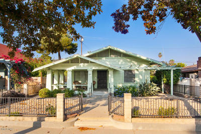 Fillmore Single Family Home For Sale: 440 Central Avenue