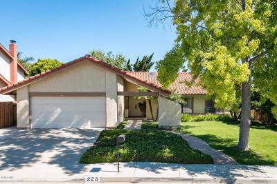 Ventura County Single Family Home For Sale: 223 Cedar Heights Drive