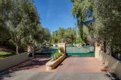 Somis Residential Lots & Land For Sale: 6800 Coyote Canyon Road