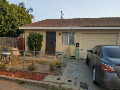 Ventura Multi Family Home For Sale: 146 Forbes Lane