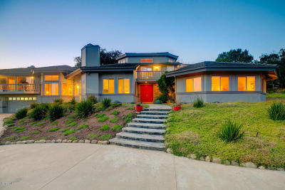 Oak View Single Family Home For Sale: 10655 Encino Drive