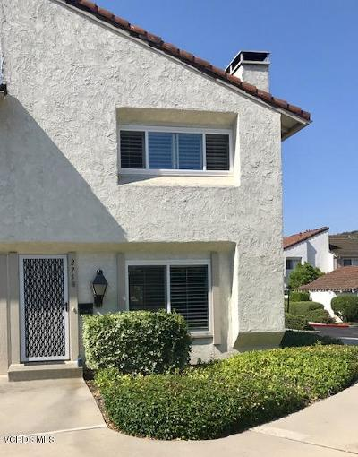 Thousand Oaks Single Family Home Active Under Contract: 225 Green Lea Place