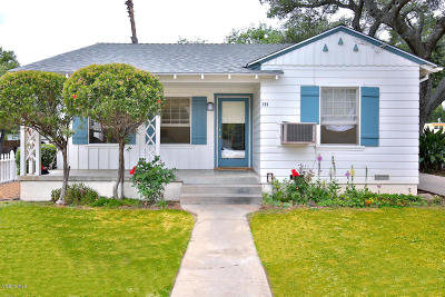 Ojai Multi Family Home For Sale: 211 Signal Street