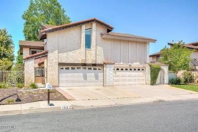 Newbury Park Single Family Home For Sale: 133 Jerome Avenue
