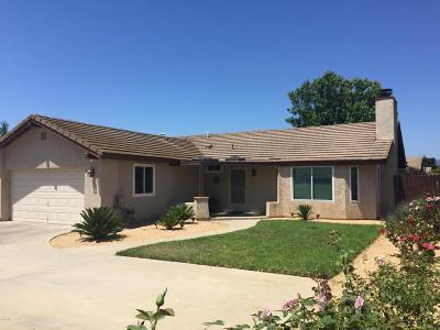 Ojai Single Family Home Active Under Contract: 11961 Morgan Street