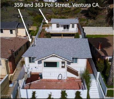 Ventura Multi Family Home Active Under Contract: 359 Poli Street