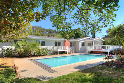 Ojai Single Family Home For Sale: 1931 Country Place
