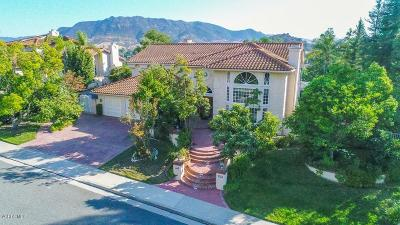 Agoura Hills Single Family Home Active Under Contract: 29350 Queens Way