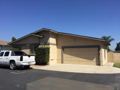 Ventura Single Family Home Active Under Contract: 1025 Cachuma Avenue #26