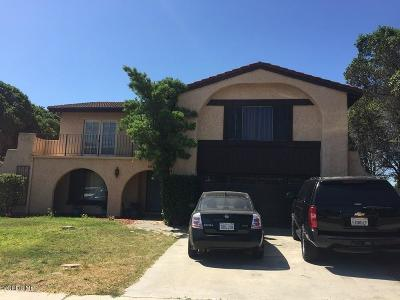 Camarillo Single Family Home For Sale: 3268 El Nido Street