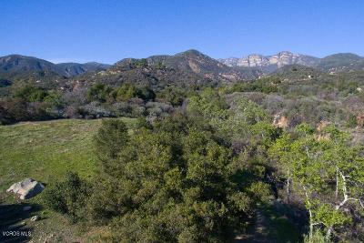 Ventura County Residential Lots & Land Active Under Contract: 12021 Koenigstein Road