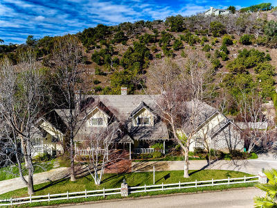 Somis Single Family Home For Sale: 5677 Heatherton Drive