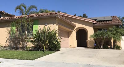 Ventura Single Family Home Active Under Contract: 10525 Candytuft Street