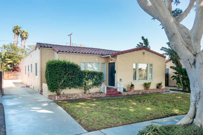 Ventura Single Family Home Active Under Contract: 540-542 San Clemente Street
