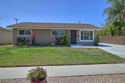 Ventura Single Family Home Active Under Contract: 8732 Boise Street