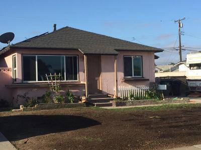 Oxnard Single Family Home For Sale: 424 W Elm Street