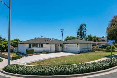 Ventura Single Family Home For Sale: 10980 Galvin Street