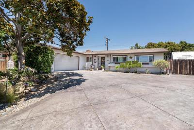 Camarillo Single Family Home Active Under Contract: 1369 Plumbago Street