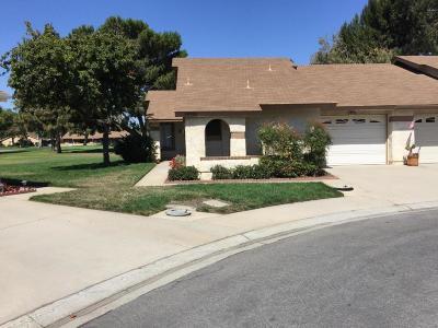 Camarillo Single Family Home For Sale: 19201 Village 19