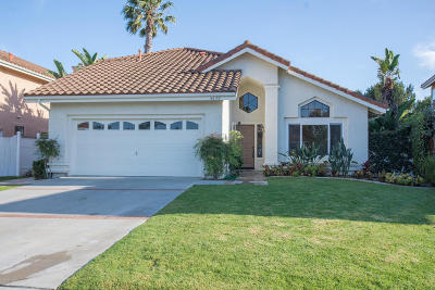 Camarillo Single Family Home Active Under Contract: 4630 Via Cupertino