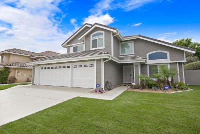 Oxnard Single Family Home Active Under Contract: 1021 Yukonite Place