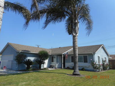 Port Hueneme Single Family Home For Sale: 1706 5th Place