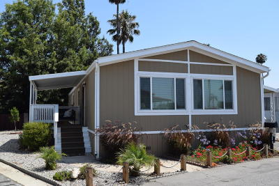 Camarillo Mobile Home Active Under Contract: 4388 Central Avenue #120