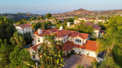 Calabasas Single Family Home For Sale: 24935 Bella Vista Drive