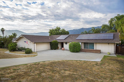Ojai Single Family Home For Sale: 1406 La Paz Drive