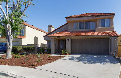 Moorpark Single Family Home Active Under Contract: 15385 Bambi Court