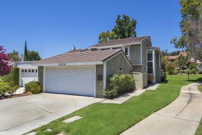 Westlake Village Single Family Home Active Under Contract: 32119 Harborview Lane