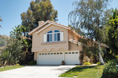 Camarillo Single Family Home For Sale: 1242 La Culebra Circle