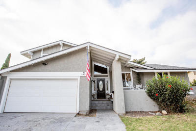 Camarillo Single Family Home For Sale: 1475 Gracia Street
