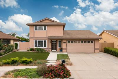Oxnard Single Family Home Active Under Contract: 3320 Regatta Place
