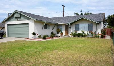 Port Hueneme Single Family Home For Sale: 1776 6th Place