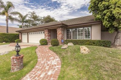 Oxnard Single Family Home Active Under Contract: 1110 Ebony Drive