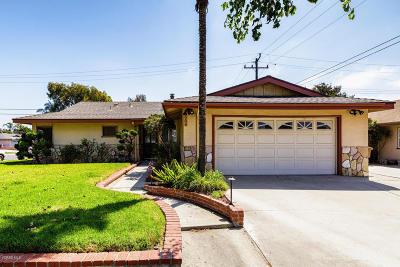 Ventura Single Family Home For Sale: 204 Baldwin Avenue