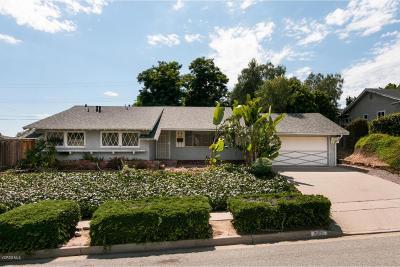 Ventura Single Family Home Active Under Contract: 351 Fairfax Avenue
