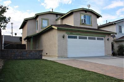 Ventura Single Family Home Active Under Contract: 10191 Willamette Street