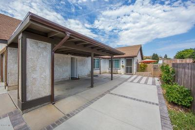Camarillo Single Family Home Active Under Contract: 668 Hillcrest Drive