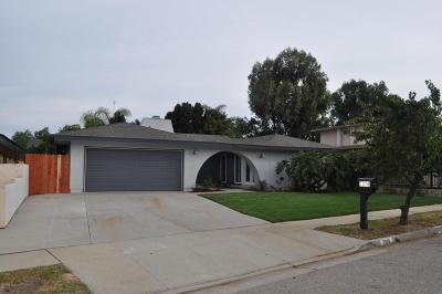 Ventura Single Family Home For Sale: 7376 Impala Drive
