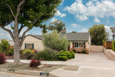Ventura Single Family Home For Sale: 325 Shamrock Drive
