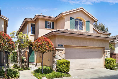 Camarillo Single Family Home Active Under Contract: 4561 Los Damascos Place