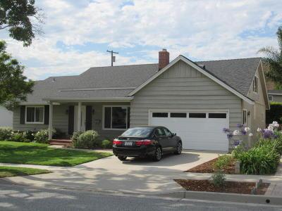 Ventura Single Family Home For Sale: 4473 Pomona Street