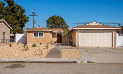 Oxnard Single Family Home For Sale: 4972 Burson Way