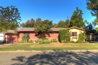 Ojai Single Family Home Active Under Contract: 813 Mercer Avenue