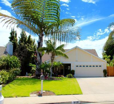 Camarillo Single Family Home Active Under Contract: 908 Comanche Court